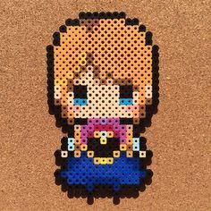 Princess Anna - Frozen Fever perler beads by tsubasa.yamashita