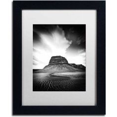 Trademark Fine Art 'Dawn of a New Day' Canvas Art by Philippe Sainte-Laudy, White Matte, Black Frame, Size: 11 x 14, Multicolor