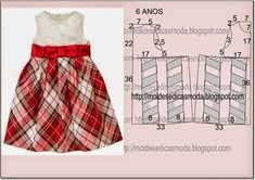 How to make different type of frock ~ Crazzy Craft Baby Outfits, Kids Outfits, Dress Anak, Baby Dress Patterns, Baby Dress Tutorials, Crochet Baby Dress Pattern, Crochet Fabric, Crochet Baby Clothes, Little Girl Dresses