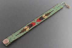off loom beading techniques Loom Bracelet Patterns, Bead Loom Bracelets, Bead Loom Patterns, Woven Bracelets, Jewelry Patterns, Beading Patterns, Beading Ideas, Beading Supplies, Beading Techniques