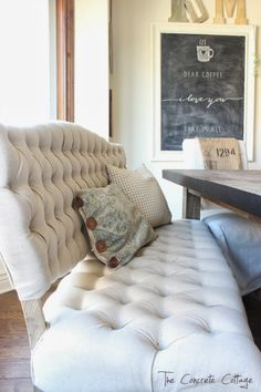 The Concrete Cottage: Dining Room Restyle