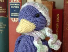 Fuzzy Thoughts: April Featured Pattern - Silly Duck
