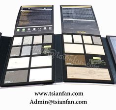 Marble Stone Sample Brochure Tile Display Binder