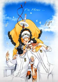Funny Anime Pics, Go Wallpaper, Kurotsuki, 0ne Piece, Trafalgar Law, Manga, Penguins, Art Pieces, Gallery