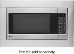 LG STUDIO - 2.0 Cu. Ft. Full-Size Microwave - Stainless Steel - AlternateView11 Zoom