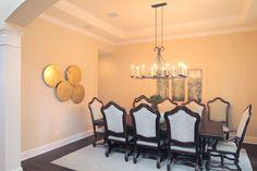 Bayshore Estates - mediterranean - dining room - tampa - Devonshire Custom Homes
