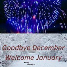 Goodbye December Welcome January Quotes Photos January Month, Hello January, New Month, December Quotes, Cover Pics For Facebook, Birth Flowers, Tumblr Quotes, Welcome, Hd Wallpaper
