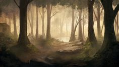 Forest by IIDanmrak on DeviantArt
