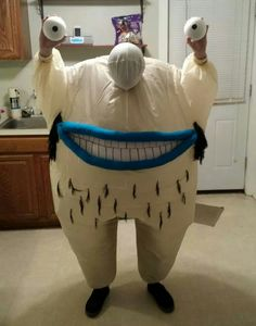Ahh! Real monsters costume