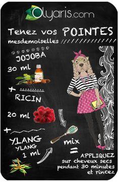 Do this granny recipe with jojoba vegetable oil and guess an expert to tame hair! Beauty Box, Beauty Care, Beauty Hacks, Beauty Tips, Diy Beauté, Homemade Cosmetics, Hacks Diy, Facial Masks, Utila