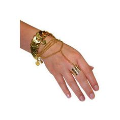 Hand Jewelry | Desert Princess Hand Jewelry - Belly Dancer Costume Accessories ...