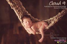Newborn Girl or Boy Mini Blanket Handspun Hammock Photography Prop by TrickyKnits, $85.00 #knitting #photo prop