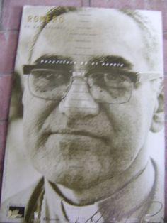 Monseñor Romero poster, Cinquera, El Salvador