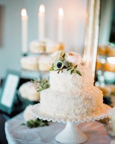 "G A T H E R E V E N T S ™ on Instagram: ""Bring on all the dessert and chunky sweaters..... baking season is here! . This sweet wedding cake was made by the bride's mother for the…"" Beautiful Wedding Cakes, Let Them Eat Cake, Backyard, Seasons, Table Decorations, Bride, Baking, Chunky Sweaters, Sweet"