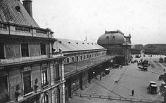 Old Station, lateral view