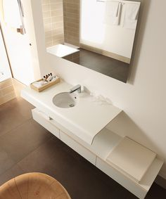 Matteo Thun & Partners : Product design : Duravit, Onto bathroom collection