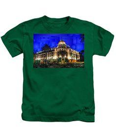 Kids T-Shirt - Le Negresco Hotel In Nice France