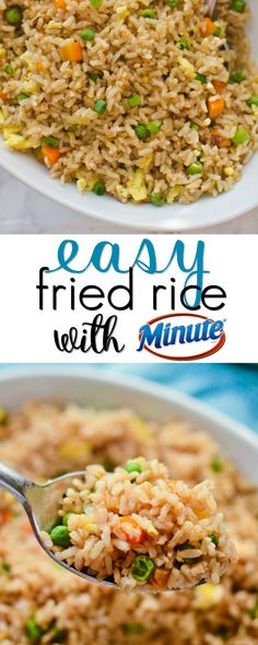 Easy Fried Rice is a quick and easy weeknight dinner!