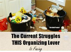 The current struggles THIS organizing lover is facing