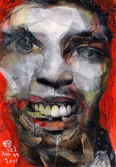 Project Showcase - Broken 1000 Faces by Takahiro Kimura Abstract Portrait, Portrait Art, Couples Anime, A Level Art, Human Art, Figurative Art, Fine Art Photography, Collage Art, Street Art