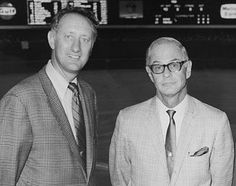 Nelson (Nellie) King & Bob Prince ... former Pirates announcers