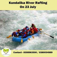 Experience river rafting @ Kunadalika River !! Book now - http://bit.ly/29NIpdK
