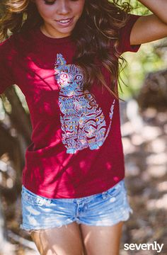 Each purchase helps fund an undercover rescue mission, freeing children sold into sex slavery.► http://www.sevenly.org/view/charity?cid=ShrPinterestDestinyRescue