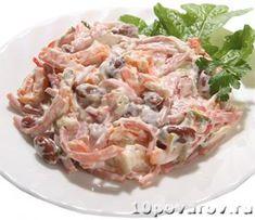 Немецкий салат из Ленты Potato Salad, Cabbage, Potatoes, Vegetables, Ethnic Recipes, Food, Potato, Veggie Food, Cabbages