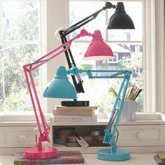 Colorful lamp.