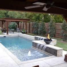 Small pools come in a diverse selection of shapes, sizes and sorts. It's possible to also get it installed in your home if you possess a pool in the backyard. If you're prepared to get a pool, consider the advantages… Continue Reading → Small Inground Pool, Small Swimming Pools, Small Pools, Swimming Pools Backyard, Swimming Pool Designs, Backyard Pool Landscaping, Backyard Pool Designs, Small Backyard Pools, Pool Fence