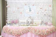 A Mary Poppins Themed Baby Shower for Copper Lulu - Sweet Treats Spread