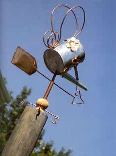 upcycled | You're So Vane (upcycled weather vane) « Absolute Bodo