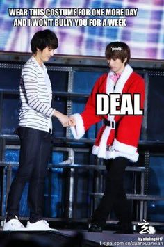 Ah, I can see Kyu doing this to Hyuk :)