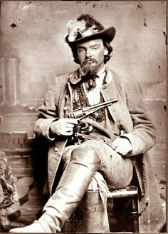 George Maddox.Rode with William  Quantrill,and Bloody Bill Anderson.  At the Lawrence, Kansas  Massacre.  Went to  jail, and later found not guilty.