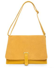 Smooth as Butter Yellow Handbag