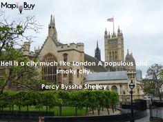 Is London a populous city. #London-quotes #MapToBuy
