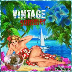 Summer Vintage Pin UP