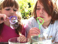 solucion de burbujas casera