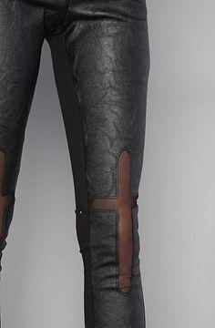 Style stalker The Damned Leggings #cross #black #style