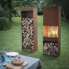 The K60 Garden Fire & Barbecue from TOLE (The Outdoor Living Experience) was designed byiol Strategic Design, a Belgian firm typically working in specialty fields like education and health care. The team wanted to create a locally made consumer product. It is€2,300 from Jardin Chic.