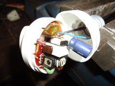 Aprovechá el circuito de la lámpara de bajo consumo: - Taringa!