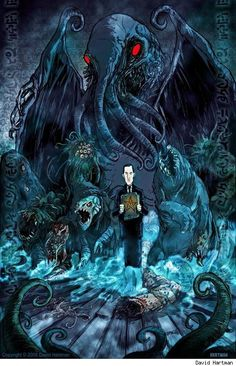 Lovecraft and H.R. Giger: How Their Dreams Became Our Nightmares ...
