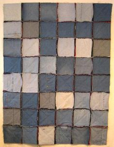 Make a Recycled Denim Quilt