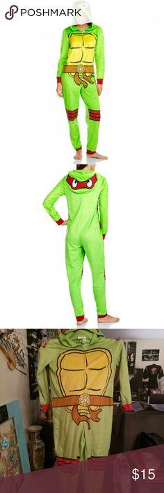🐢🐢Women's 2x Tmnt Onesie🐢🐢 Awesome TMNT womens 2x Onesie Nickelodeon Intimates & Sleepwear Pajamas
