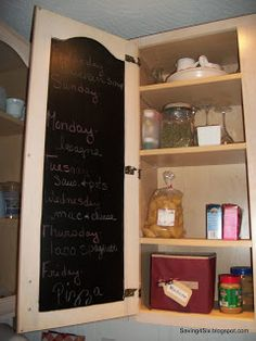 Kitchen Cabinet Help » Joyful Homemaking