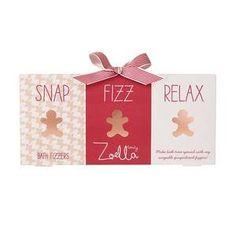 ZZoella Gingerbread Bath Fizz Gift Set