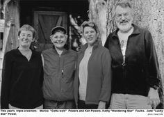 Triple crown hikers - they have hiked the Appalachian Trail,  the Pacific Coast Trail and the Continental Divide Trail.