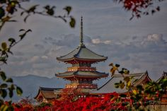 https://flic.kr/p/MC7i4z | The Gion Tower at Daiunin, A Landmark of Kyoto. | Daiunin (大雲院) was founded in 1587, at the request of Emperor Ōgimachi (June 18, 1517 – February 6, 1593). The Gion Tower (祇園閣) dates back to 1928 and is an imitation of the floats used in the Gion Matsuri.
