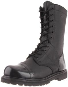 Bates Men's 11 Inches Paratrooper Side Zip Work Boot - http://authenticboots.com/bates-mens-11-inches-paratrooper-side-zip-work-boot/