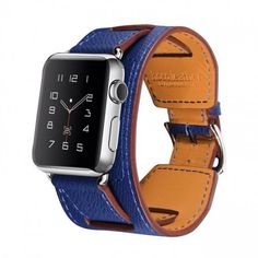 Buy one wear two.  Multistrap leather watchband for the #applewatch.